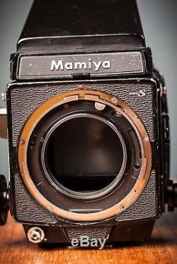 Mamiya Rb67 Pro S 6x7 Medium Format Camera 127mm F/3.8 Lens & Motorised Back