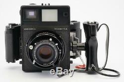 Mamiya Universal Outfit Mamiya-Sekor 100mm F/3.5 Lens Mamiya 6x7 Back