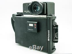 Mamiya Universal Press Body with Sekor 100mm F3.5 lens and Polaroid Back
