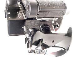 Mamiya Universal Press Film Camera with100mm F/3.5 lens, Grip and 6x9 film back