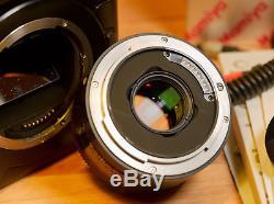 Mamiya ZD medium format digital camera + 80mm AF f2.8 + remote control back