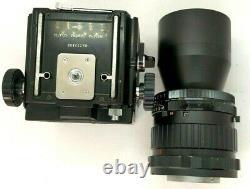 Mamiya rb67 pro SLR camera withCDS finder, Sekor C 360 6.3 & 120 Film Back Japan