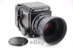 Mamiya rz67 pro 3 lenses, cable, 2 backs, case, viewfinder mint bundle