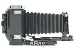 Mint HORSEMAN VH Field Film Camera with 90mm Lens & 6x9 Film back x2 etc. #438