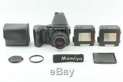 Mint MAMIYA 645 Pro AE Finder with Sekor C 55mm f2.8 N + 120 Film Back Japan 263