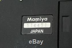 Mint Mamiya RZ67 Pro Body Waist Level Finder + 120 Film Back x3 JAPAN 273