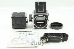 Mint + Original Strap + ISO 3200 Hasselblad 503CW Late Model A12 IV From JAPAN