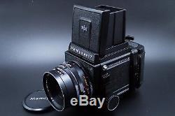 NEAR MINTMamiya RB67 Pro S Film Camera w 127mm lens 120 Film Back From Japan