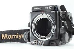 NEAR MINTMamiya RZ67 Pro II Camera Body with120 film back, Strap from Japan 284