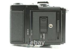 NEAR MINT+3 Zenza Bronica SQ-A + PS 80mm f/2.8 + 120 Fillm Back x2 from Japan