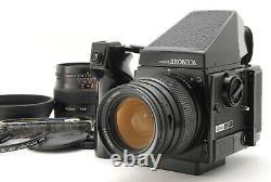 NEAR MINT BRONICA GS-1 Late Model with 65mm 100mm 120 Film Back 6x7 From JAPAN