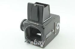 NEAR MINT IN BOX Hasselblad 500 CM C/M Black 120 Film Back From JAPAN F416