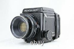 NEAR MINT MAMIYA RB67 Pro Medium Format + SEKOR 127mm f/3.8 + 120 Film Back