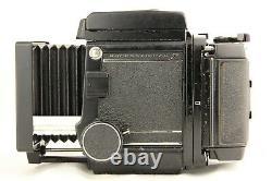 NEAR MINT MAMIYA RB67 Pro S + SEKOR NB 127mm f/3.8 + 120 Film Back from JAPAN