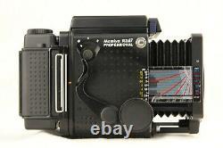 NEAR MINT MAMIYA RZ67 Pro + SEKOR Z 90mm f/3.5 W + Hood, 120 Back from JAPAN