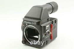 NEAR MINT Mamiya 645 Pro Camera with AE Finder + 120 Film Back from Japan #1642