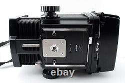 NEAR MINT Mamiya RB67 Pro SD Body + 6x8 Motorized Film Back from Japan 7041