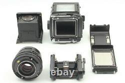NEAR MINT Mamiya RB67 Pro S + Sekor C 127mm f/3.8 + 120 Film Back From JPN1259