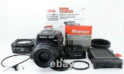 NEAR MINT Mamiya RZ67 Pro II + Sekor Z 90mm f/3.5 W 120 Film Back Japan 0790