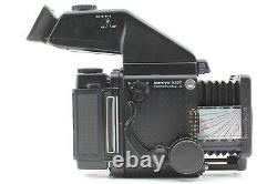 NEAR MINT Mamiya RZ67 Pro II Z 110mm F2.8 AE Finder II 120 Film Back JAPAN