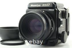 NEAR MINT Mamiya RZ67 Pro II, Z 110mm f2.8 W, 120 Film back II From Japan #484