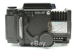 NEAR MINT++ Mamiya RZ67 Pro II + Z 50mm F4.5 W Lens 120 back From Japan 539