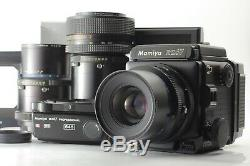 NEAR MINT Mamiya RZ67 Pro Sekor Z 90mm F3.5 W 120 Film Back + Bonus from Japan