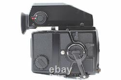 NEAR MINT Zenza Bronica ETR Si AE-II +Zenzanon EII 75mm f2.8 220 Film Back JAPAN