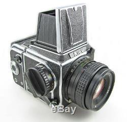 NEW Arsenal Kiev 88CM Hartblei Medium Format Film Camera Lens Body NT back WLF