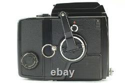 N MINT+3 BRONICA SQ 6x6 Camera Body Waist Finder 80mm F2.8 Lens 120 Back JAPAN