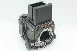 N MINT 4Lens Mamiya RZ67 Pro II 90mm 180mm 250mm 360mm 3 Film Backs Japan