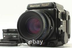 N. MINT+++ Film Back x2 Mamiya RZ67 Pro II Z 110mm f/2.8 120 From JAPAN #451