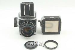 N MINT Hasselblad 500CM C/M + Planar C T 80mm f2.8 6x6 A12 Film Back Japan
