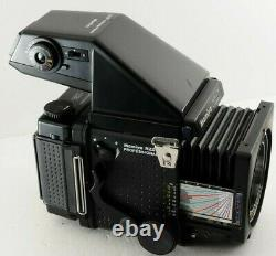 N. MINT MAMIYA RZ67 Pro Body with Waist Level Finder + 120 Film Back from JAPAN
