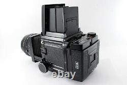 N MINT Mamiya RB67 Pro SD Body + K/L KL 127mm f3.5 L 6x8 Film Back Japan 7861