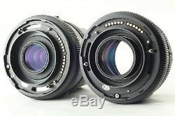 N. MINT Mamiya RZ67 Pro II M 110mm 140mm 2 Lens + 3 film backs from JAPAN #241