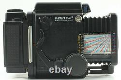 N MINT Mamiya RZ67 Pro II Sekor Z 110mm f/2.8 W 120 Film back II Japan #444