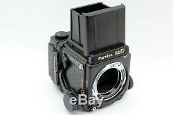 N MINT Mamiya RZ67 Pro II + Sekor Z 50mm F/4.5 W Lens 120 Film back From JAPAN
