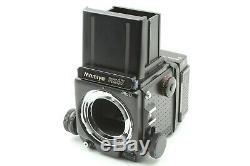 N MINT++ Mamiya RZ67 Pro II + Z 50mm F4.5 W Lens 120 Film back From Japan #539