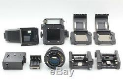 N MINT! Mamiya RZ67 Pro II with 110mm f/ 2.8 W Lens 120 Back ×2 AE Finder II