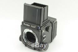 N. MINT Mamiya RZ67 Pro with M 65mm f/4 L-A Lens 120 Film Back 6x7 JAPAN 0741