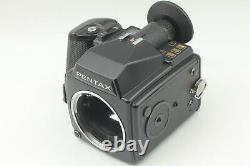 N. MINT+ Pentax 645 Film Camera + SMC A 55mm f/2.8 Lens 120 Film Back Japan
