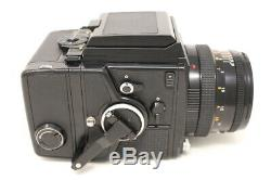 N MINT ZENZA BRONICA SQ-A withPS 80mm F/2.8 6x4.5 120 Film Back Japan #680320