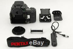 N MINT in BOXPENTAX 645NII N II Body 120 Film Back Cable Switch 105 From Japan