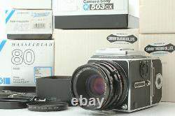N MINT++ in BOX HASSELBLAD 503CX Black CF 80mm F2.8 T Type II Back From Japan