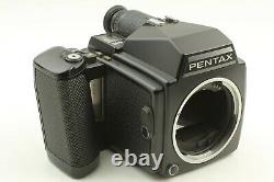 N. MINT withStrap Pentax 645 + SMC A 45mm f/2.8 Lens + 120 Film Back From JAPAN