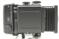 N MINT with Hood, Strap Mamiya RZ67 PRO + Sekor Z 50mm F/4.5 W 120 Back JAPAN