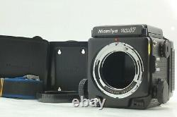 N MINT with STRAP Mamiya RZ67 Pro with Waist Level Finder 120 Film Back from JAPAN