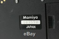 N. Mint Mamiya RZ67 Pro / Sekor Z 180mm F4.5 W / 120 Film Back from Japan #56