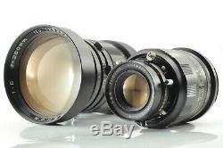 N. Mint Mamiya Universal Press 50mm 75mm 100mm 150mm 250mm grip backs + more